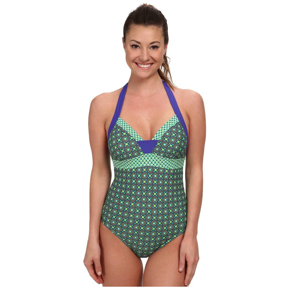 プラーナ Prana レディース 水着 スイムウェア【Isla One Piece Swimsuit】Cool Green Hyannis