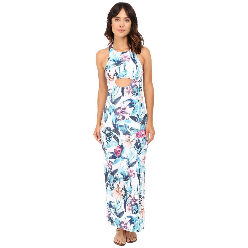 シックスショアロード レディース 水着・ビーチウェア ビーチウェア【24 hr Maxi Dress Cover-Up】Colonial Floral