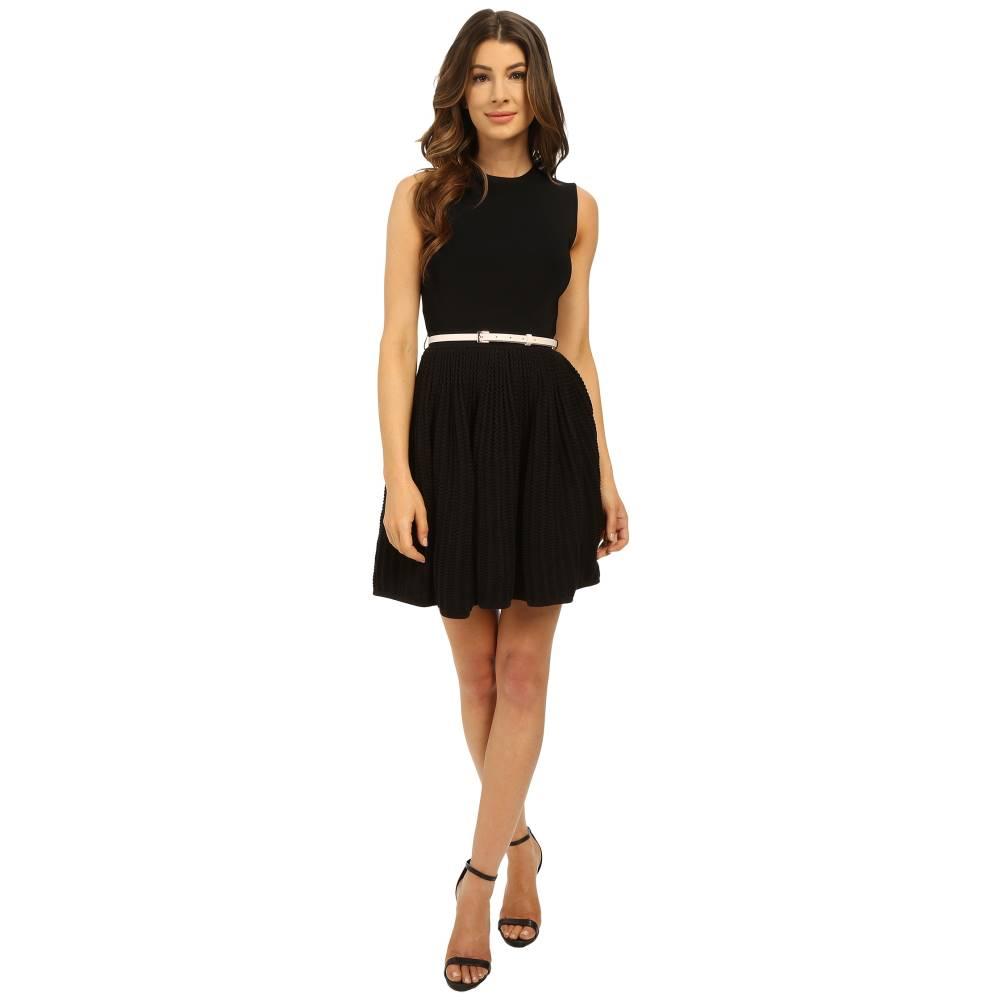 テッドベーカー レディース ワンピース・ドレス ワンピース【Alicii Bow Belt Knit Dress】Black