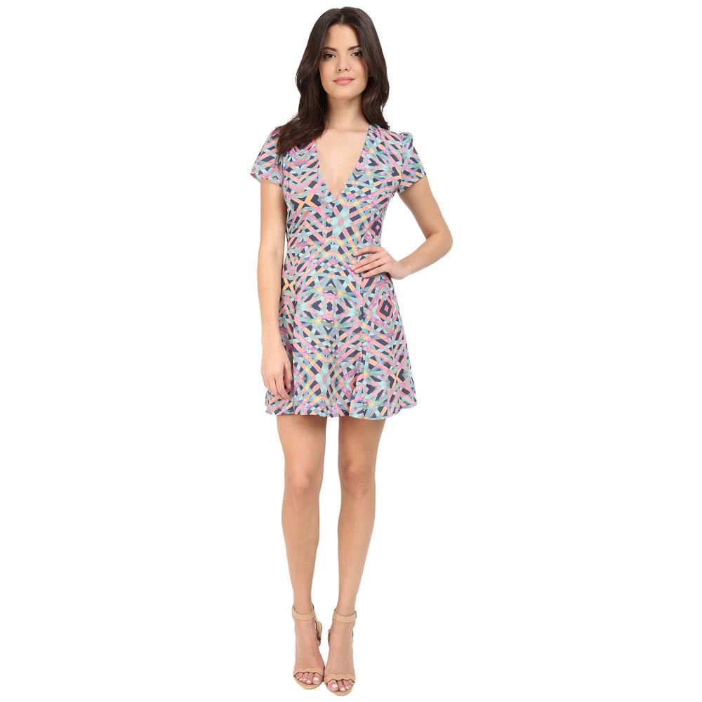 ラヴァーズフレンズ レディース ワンピース・ドレス ワンピース【Cassidy Dress】Spring Geo