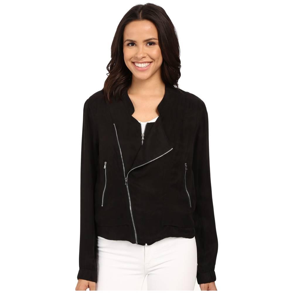 ブランクニューヨーク Blank NYC レディース アウター コート【Silk Zipper Detail Jacket】Black