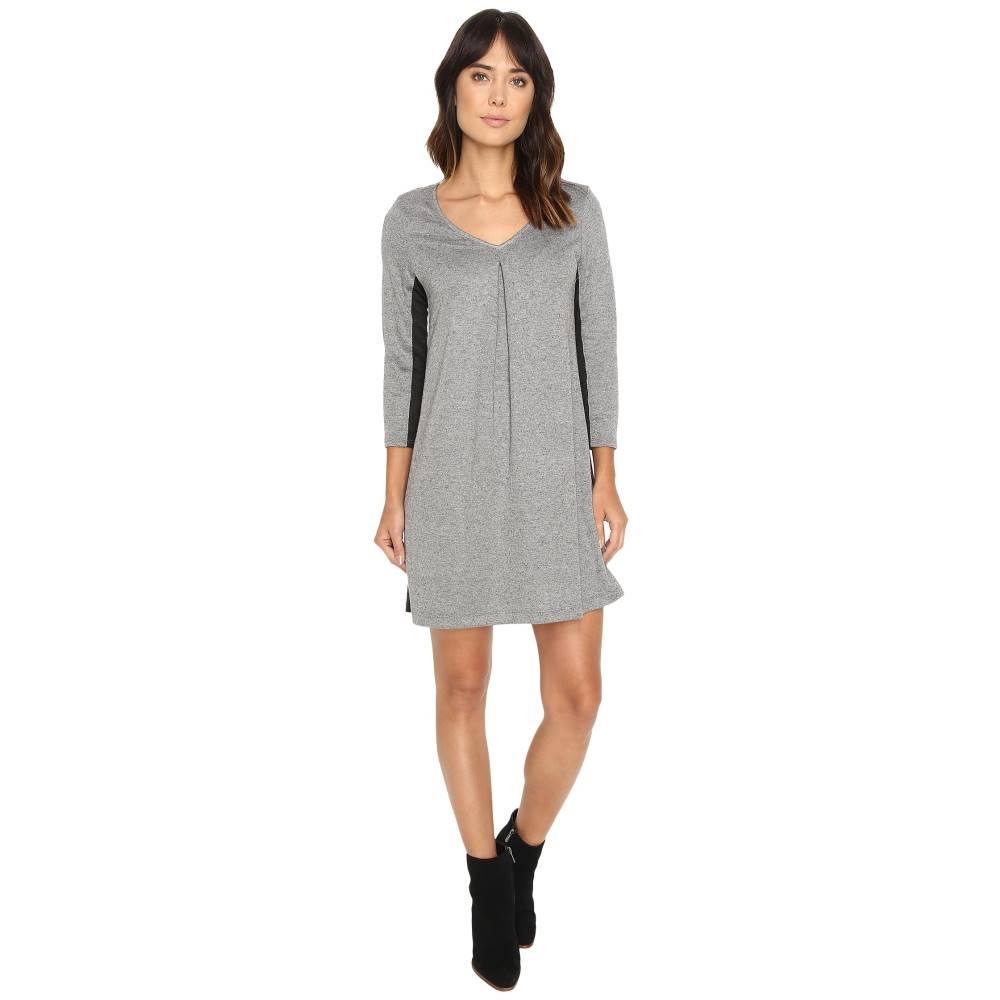 マイケルスターズ レディース ワンピース・ドレス ワンピース【Birdseye Brushed Pique A-Line Mini Dress】Heather Grey