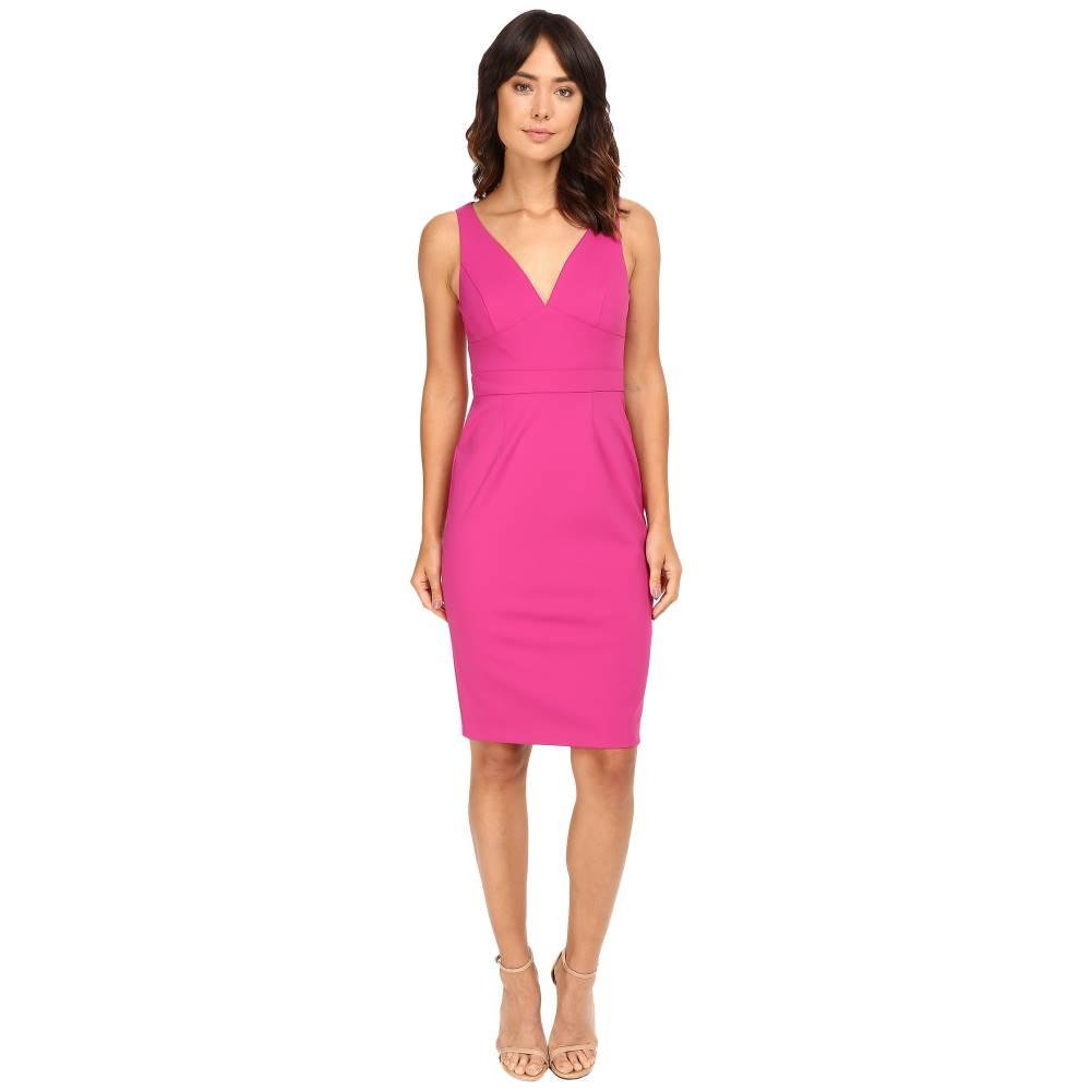 アドリアナ パペル レディース ワンピース・ドレス ワンピース【Cut Out Neoprene Column Dress】Pink