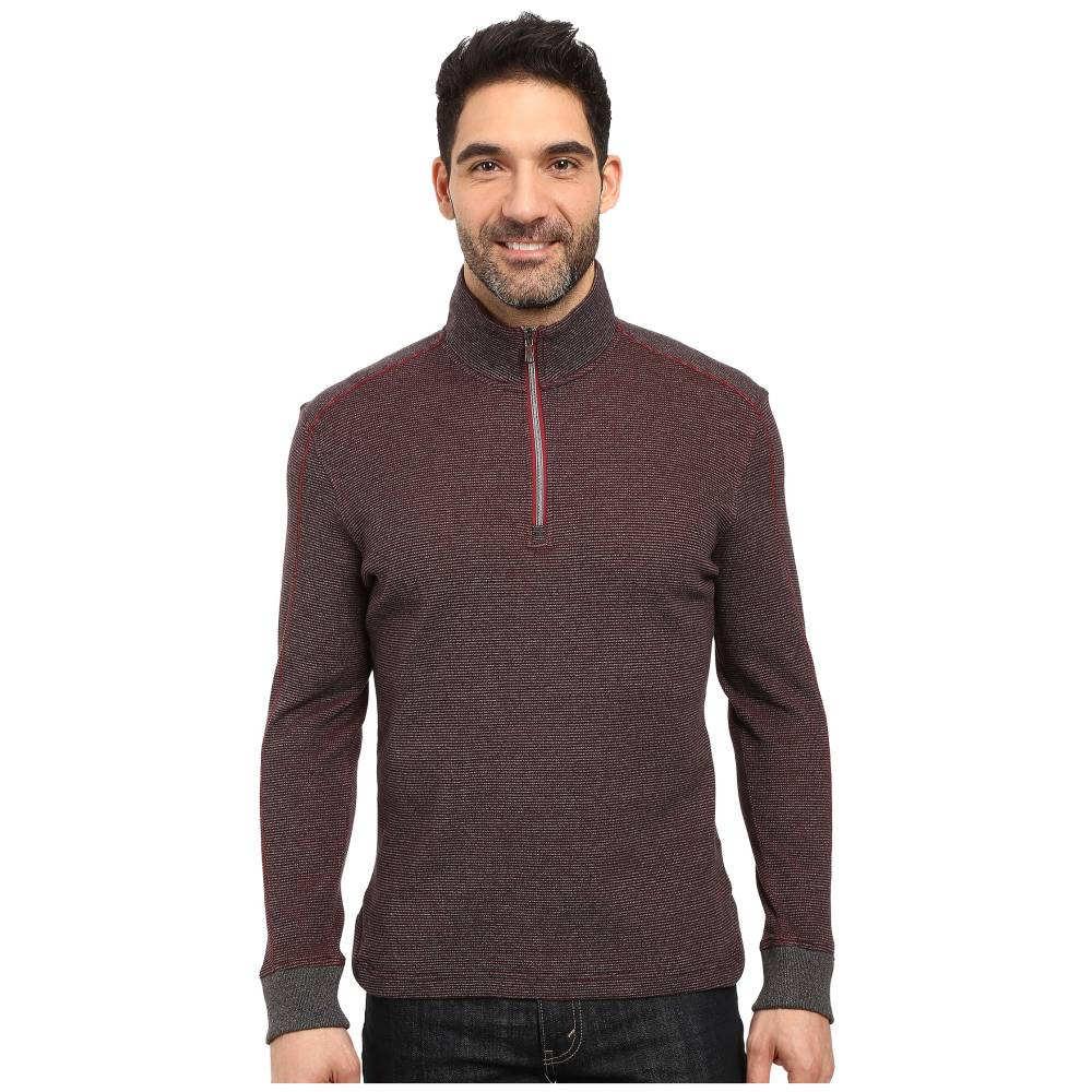 ロバートグラハム メンズ トップス ニット・セーター【Ricci 1/2 Zip Sweater】Charcoal