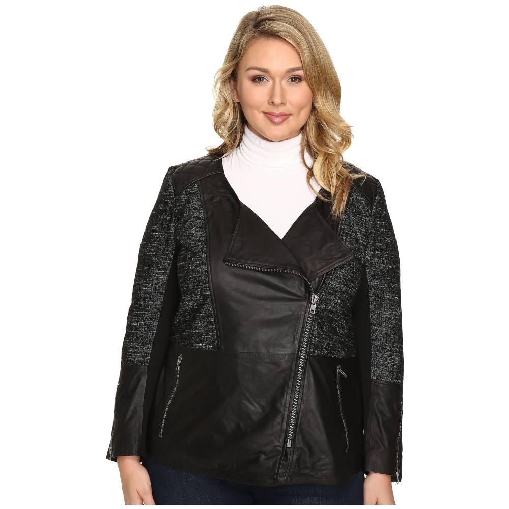 ラッキーブランド Lucky Brand レディース アウター コート【Plus Size Moto Jacket】Black Beauty