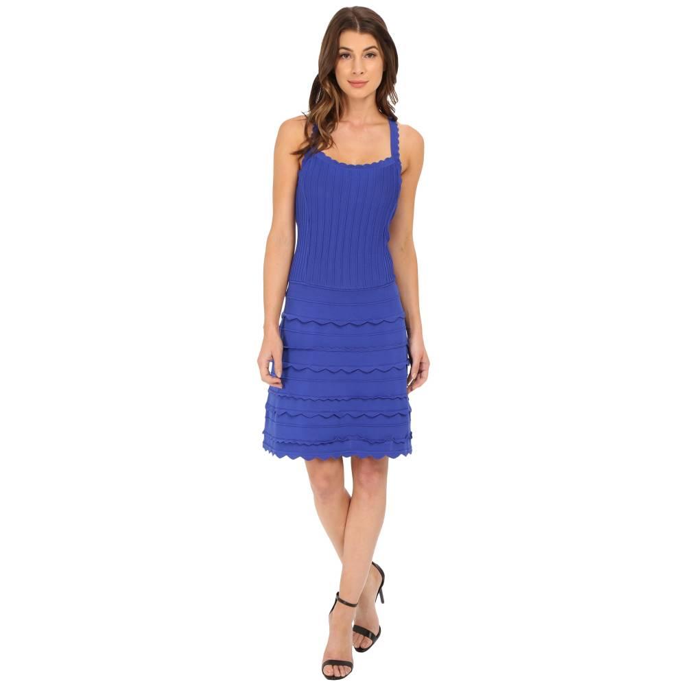 ナネット レポー レディース ワンピース・ドレス ワンピース【Scallop Edge Dress】Sapphire