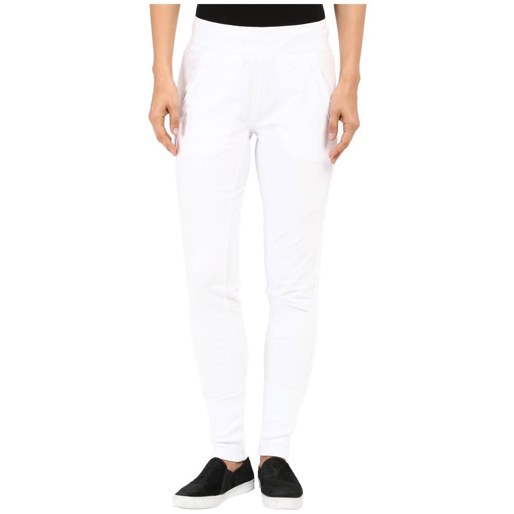 モドオードック レディース ボトムス・パンツ スウェット・ジャージ【Lightweight Cashmere French Terry Reverse Contrast Sweatpants】White
