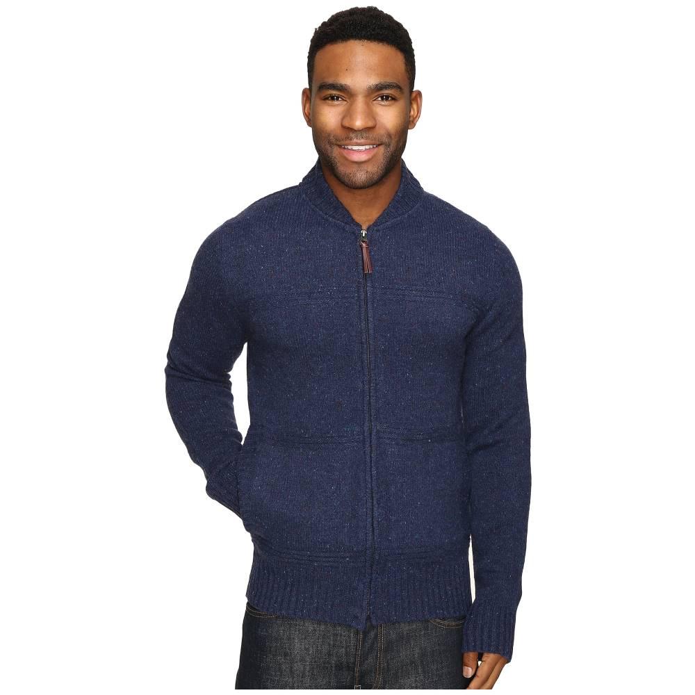 ロイヤルロビンズ Royal Robbins メンズ トップス ニット・セーター【First Fleet Merino Full Zip Sweater】Navy