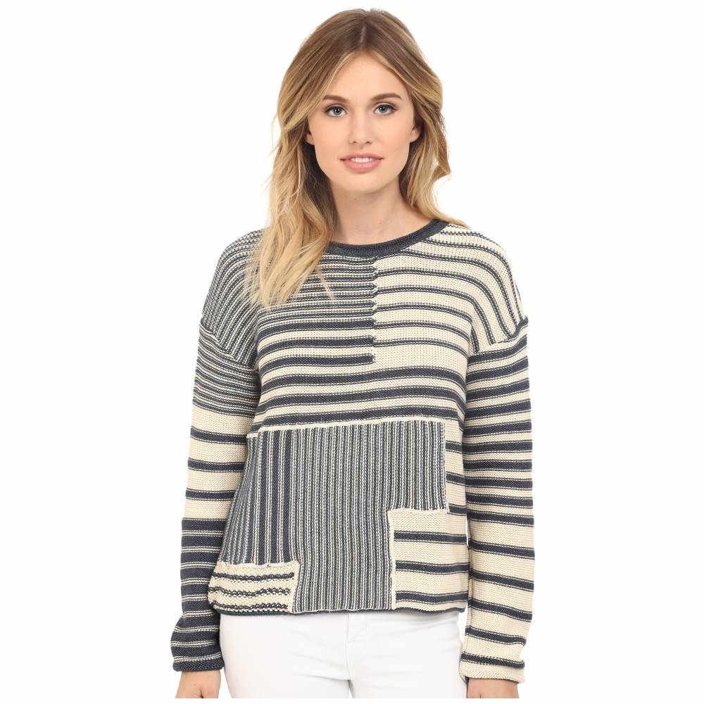 マーヴィ ジーンズ Mavi Jeans レディース トップス ニット・セーター【Striped Sweater】Dress Blue