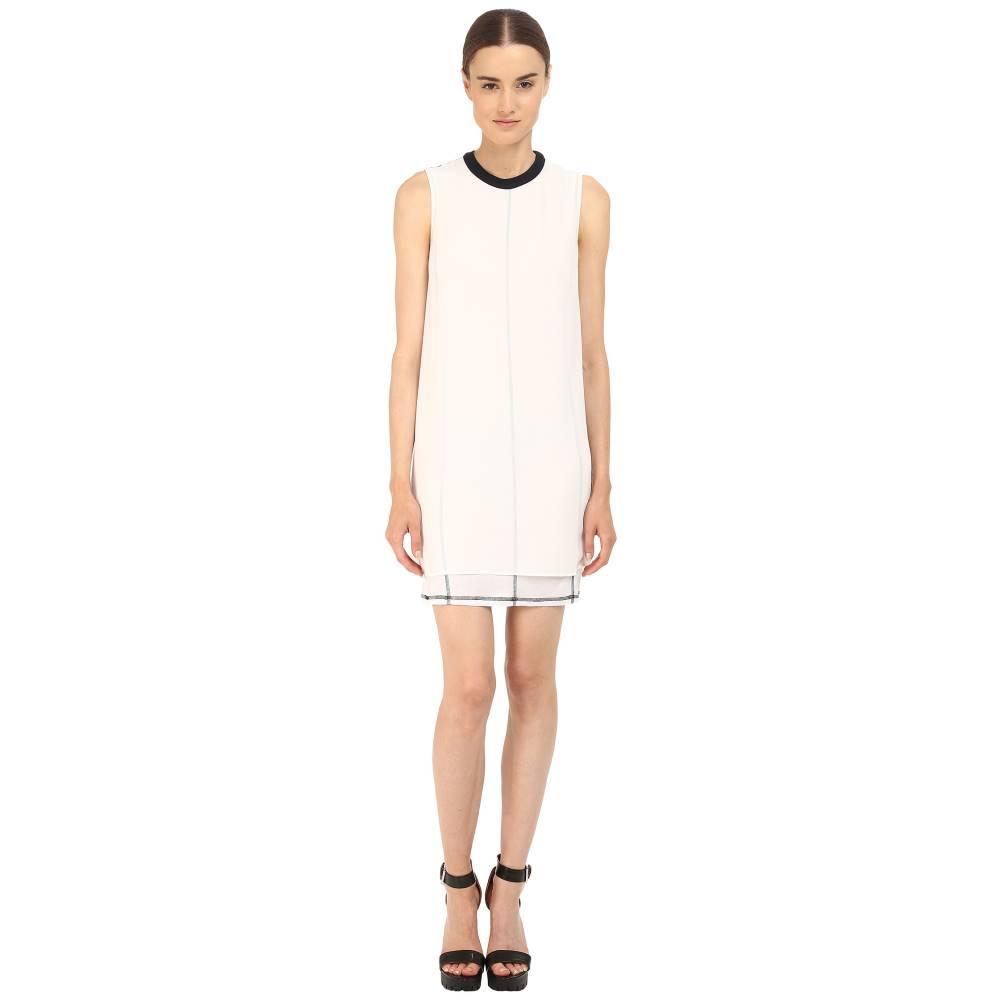 マックイーン レディース ワンピース・ドレス ワンピース【Overlay Tank Dress】Optic White