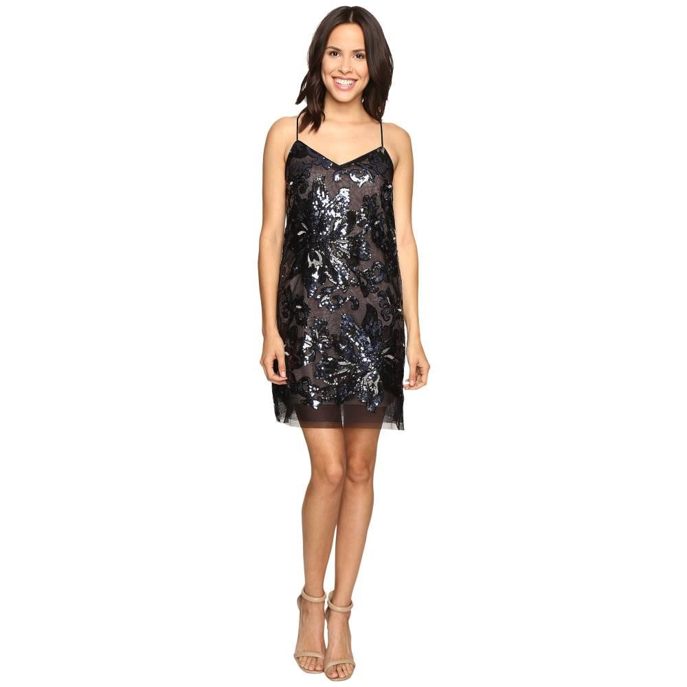 アールエスブイピー レディース ワンピース・ドレス ワンピース【Greenland Floral Dress】Black
