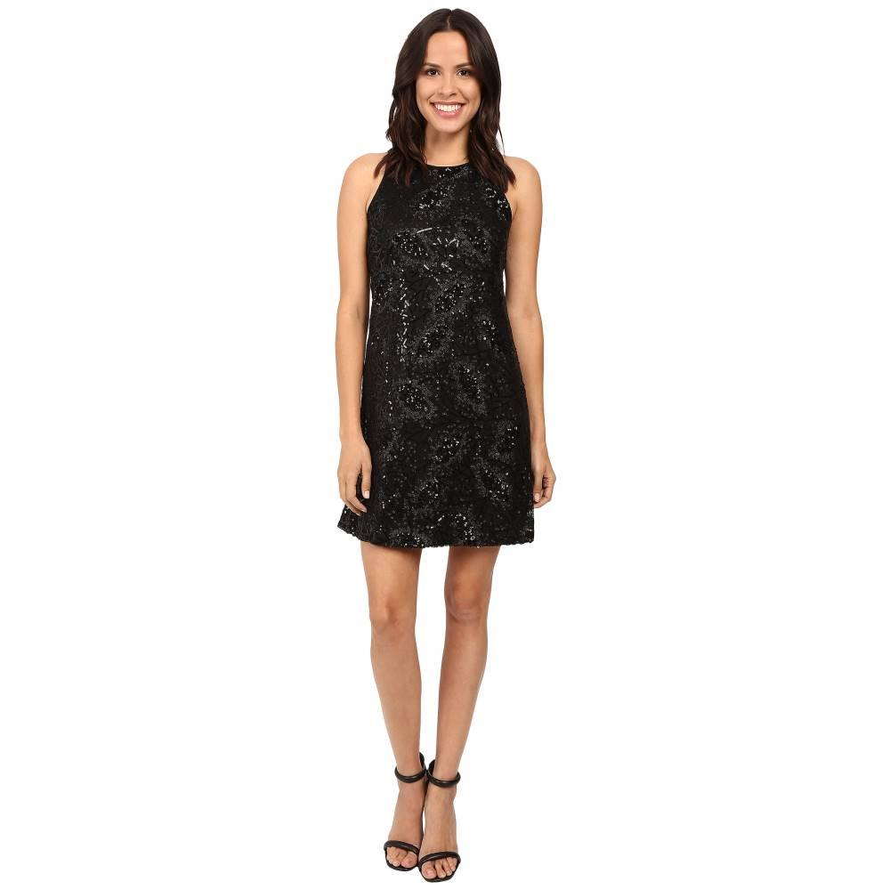 ジェシカシンプソン Jessica Simpson レディース トップス ワンピース【Floral Sequin Dress】Black