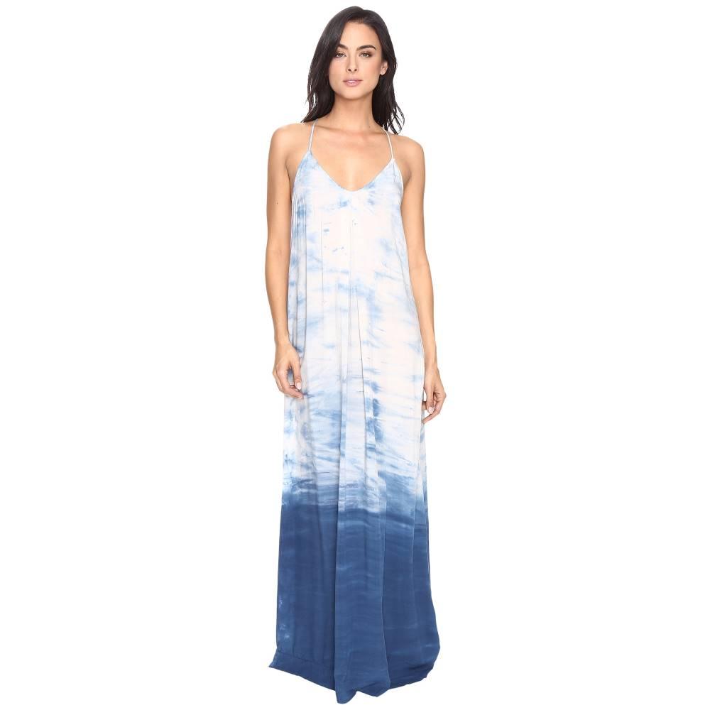マイケルスターズ Michael Stars レディース トップス ワンピース【Haze Wash Modern Rayon Maxi Slip Dress】Cosmic Blue