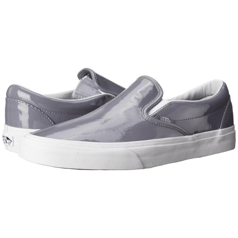 ヴァンズ Vans メンズ シューズ・靴 スニーカー【Classic Slip-On】(Tumble Patent) Gray