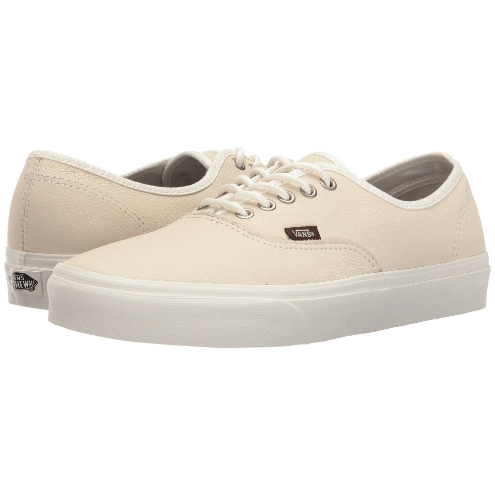 ヴァンズ メンズ シューズ・靴 スニーカー【Authentic'】(Leather) Blanc De Blanc/Potting Soil