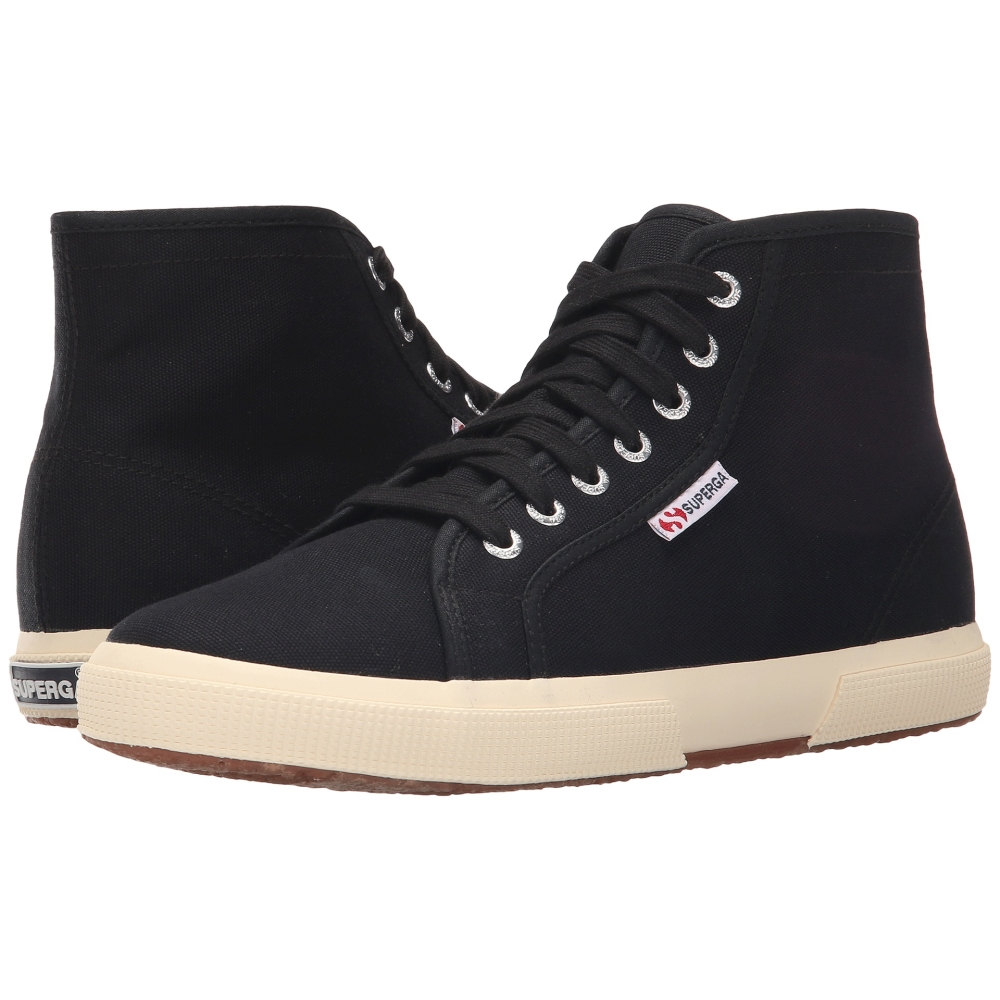 スペルガ Superga メンズ シューズ・靴 スニーカー【2095 COTU】Black/Off-White