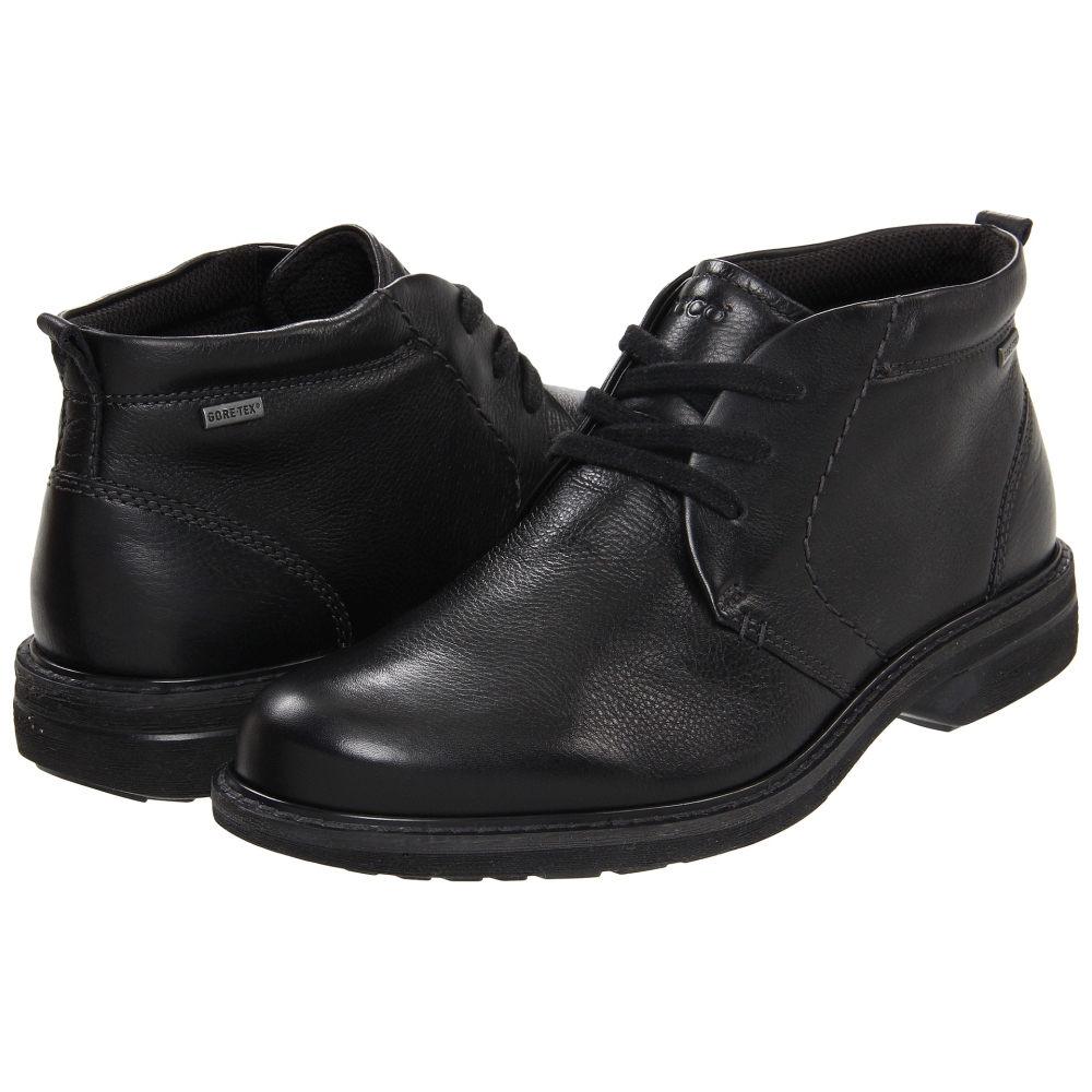 エコー メンズ シューズ・靴 ブーツ【Turn GTX Boot】Black