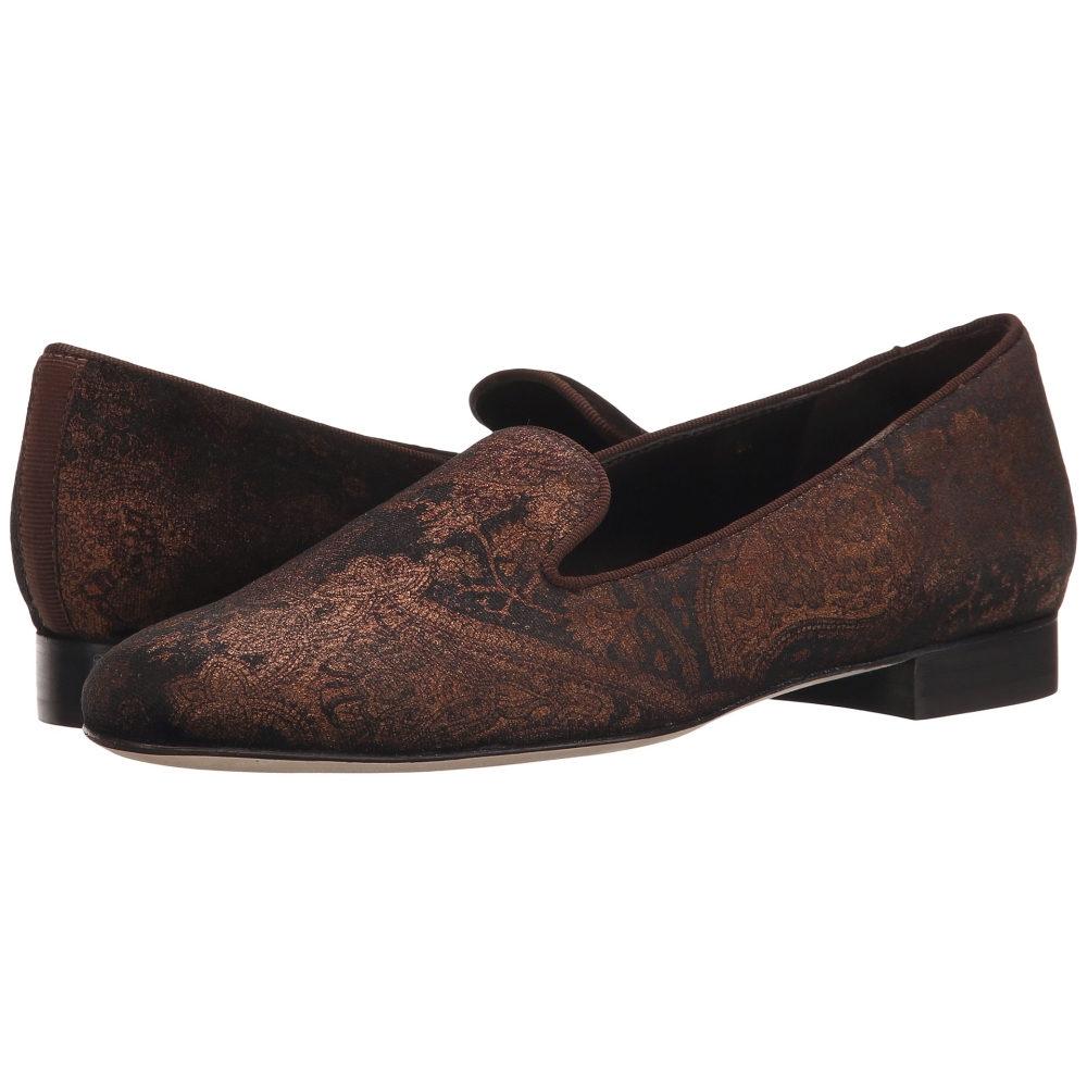 ヴァネリ Vaneli レディース シューズ・靴 フラット【Arlen】Brown Miri Velvet/Mtch Gross Grain