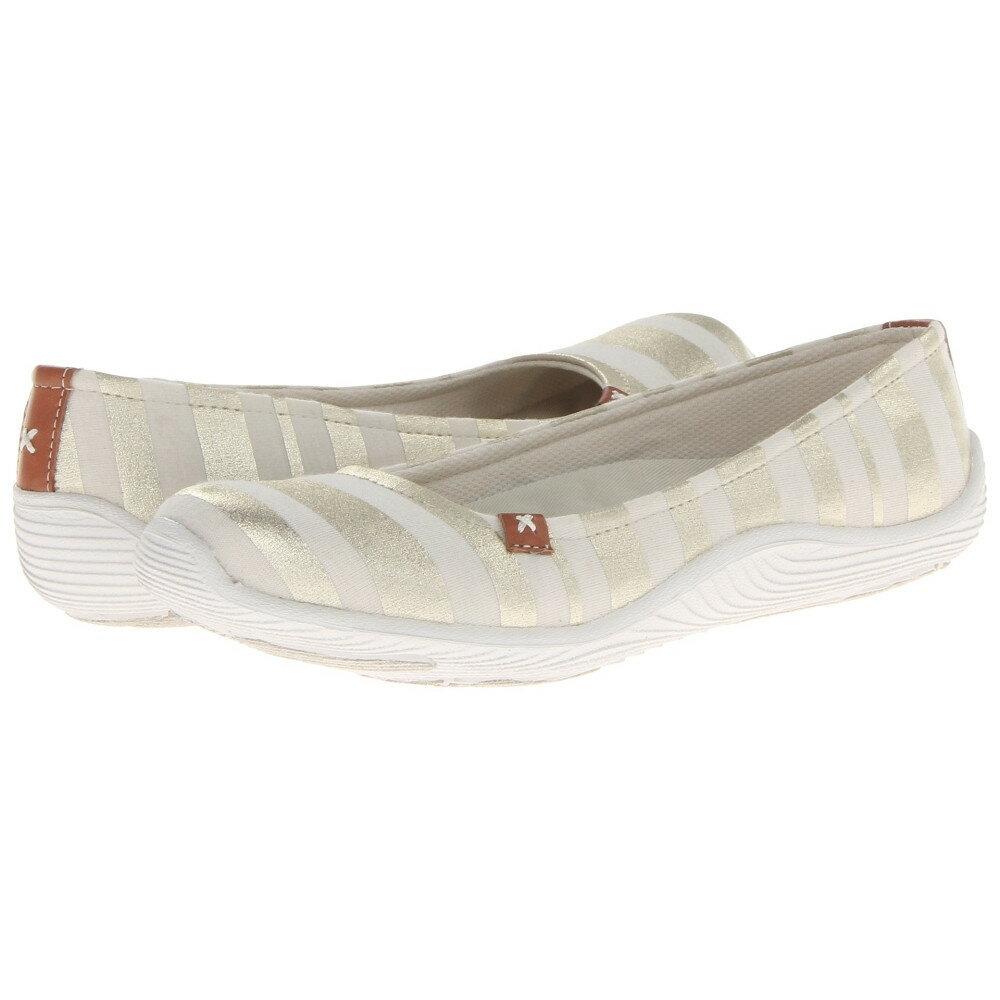 ドクター ショール レディース シューズ・靴 スリッポン・フラット【Joliet】Cream New Striped Fabric