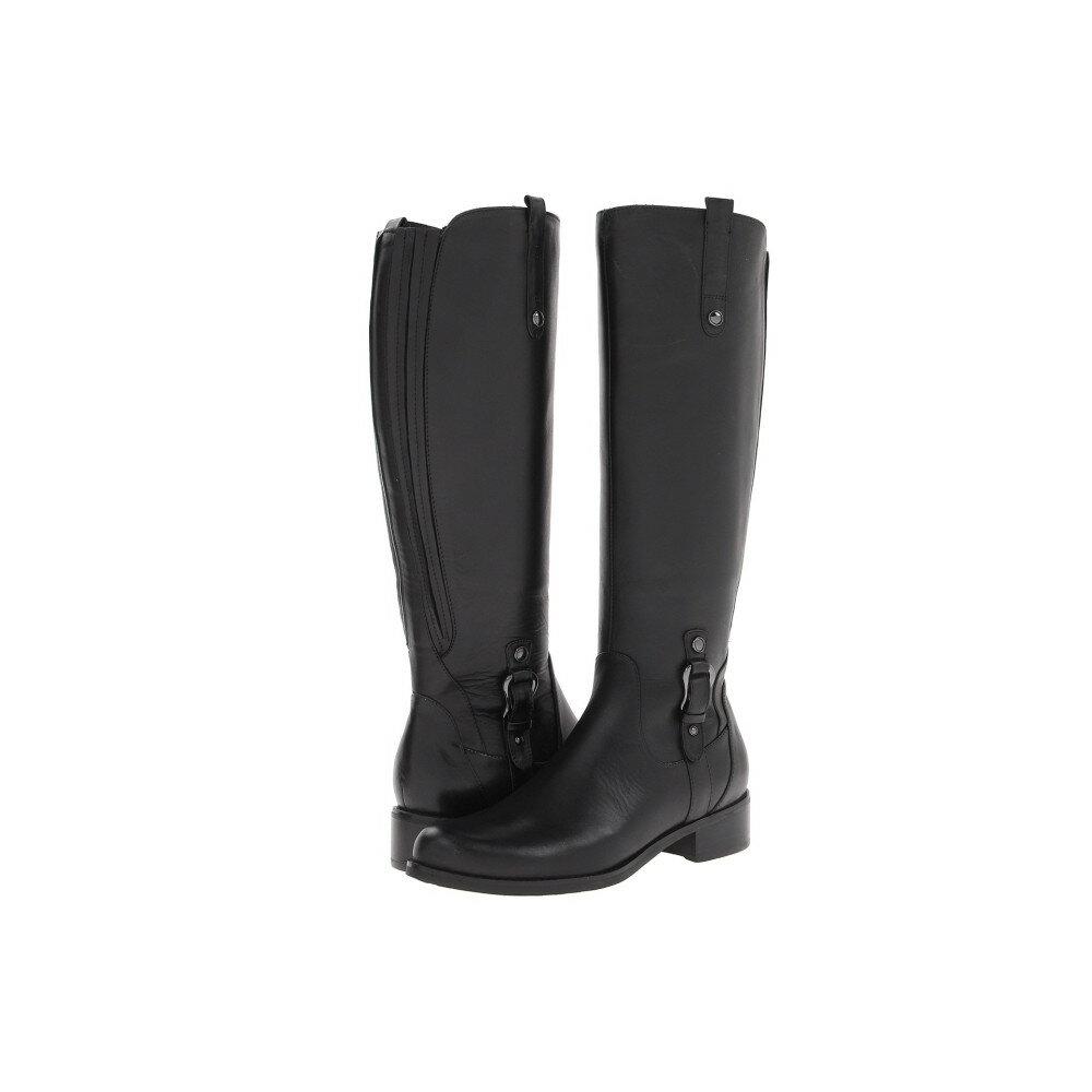 ブロンド レディース シューズ・靴 ブーツ【Venise Waterproof】Black Bostan Leather