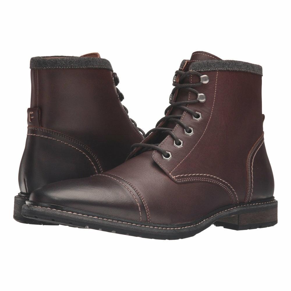 フローシャイム Florsheim メンズ シューズ・靴 ブーツ【Indie Cap Toe Boot】Chestnut Smooth