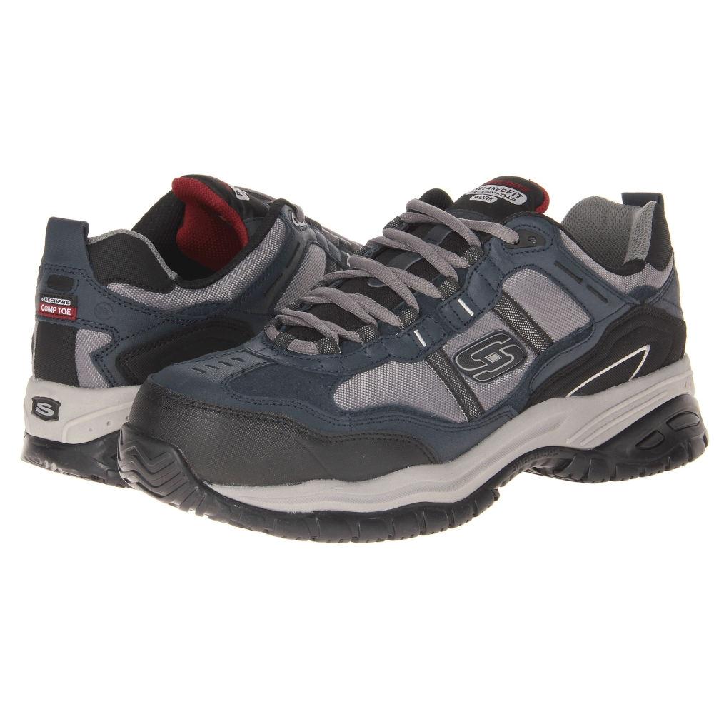 スケッチャーズ メンズ シューズ・靴 スニーカー【On Site - Robson】Navy/Grey