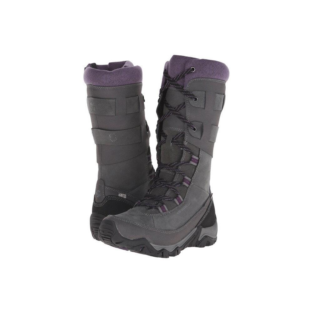 メレル Merrell レディース シューズ・靴 ブーツ【Polarand Rove Peak Waterproof】Granite