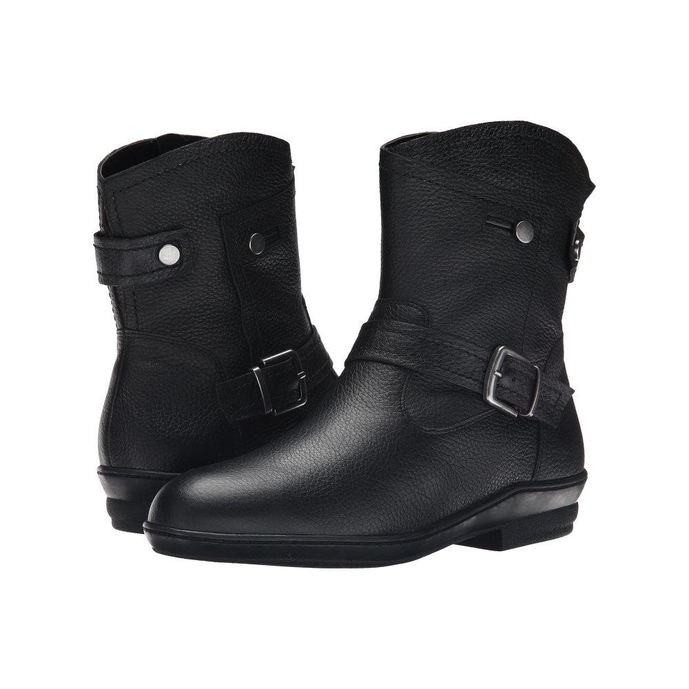 デイビッド テイト レディース シューズ・靴 ブーツ【Relax】Black Pebble Grain Calfskin
