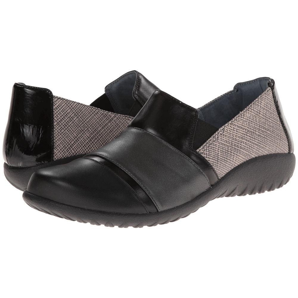 ナオトフットウェアー レディース シューズ・靴 ローファー・オックスフォード【Miro】Fishnet Leather/Metallic Road Leather/Black Madras Leather