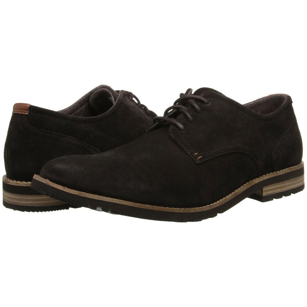 ロックポート メンズ シューズ・靴 革靴・ビジネスシューズ【Ledge Hill 2 Plain Toe Oxford】Dark Bitter Chocolate/Suede