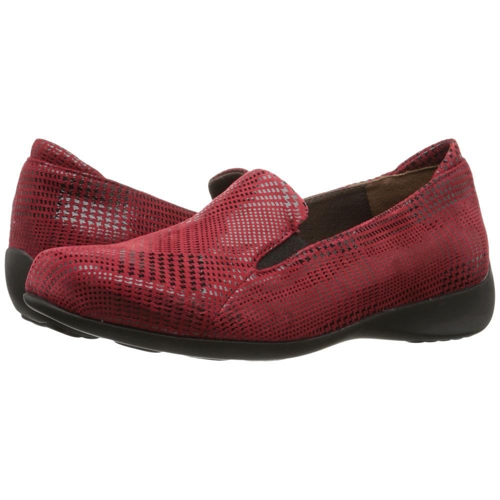 ウォーキー Wolky レディース シューズ・靴 フラット【Perls】Red Dessin Suede