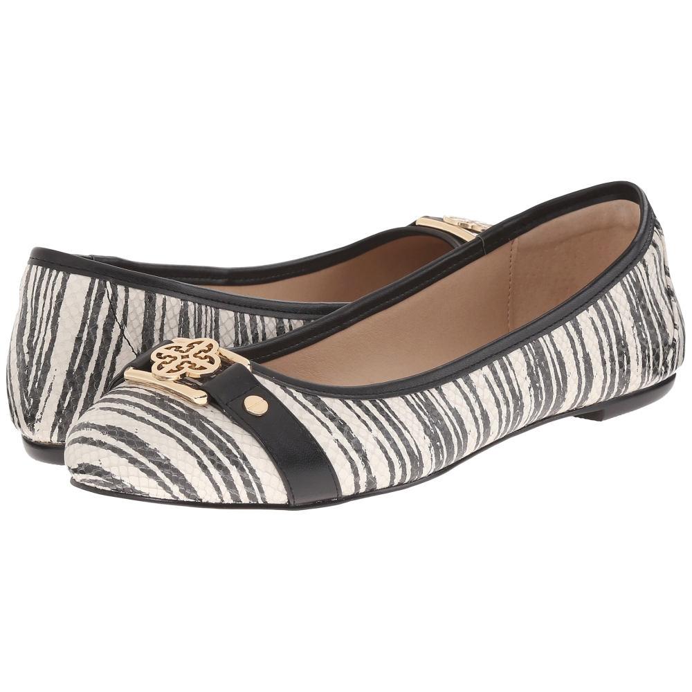 アイソラ Isola レディース シューズ・靴 フラット【Bricen】Black/White Striped Airao