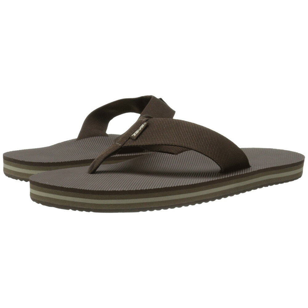 テバ メンズ シューズ・靴 ビーチサンダル【Deckers Flip】Brown