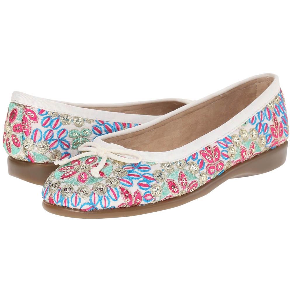 エアロソールズ Aerosoles レディース シューズ・靴 フラット【Teashop】White Floral