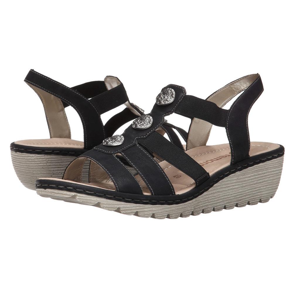 リエカー レディース シューズ・靴 サンダル・ミュール【R3756 Gretchen 56】Nero