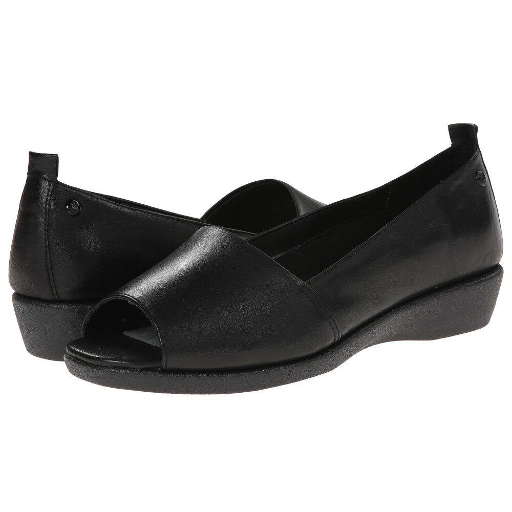 ハッシュパピー Hush Puppies レディース シューズ・靴 フラット【Petra Carlisle】Black Leather