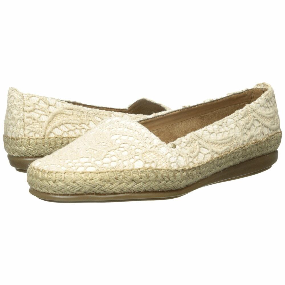 エアロソールズ レディース シューズ・靴 スリッポン・フラット【Solitaire】Natural Fabric