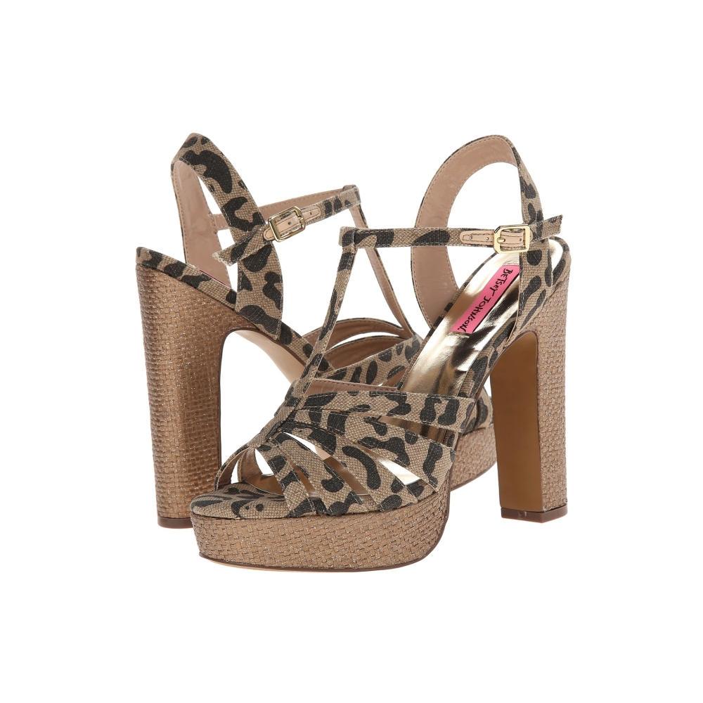 ベッツィ ジョンソン Betsey Johnson レディース シューズ・靴 パンプス【Magiic】Leopard