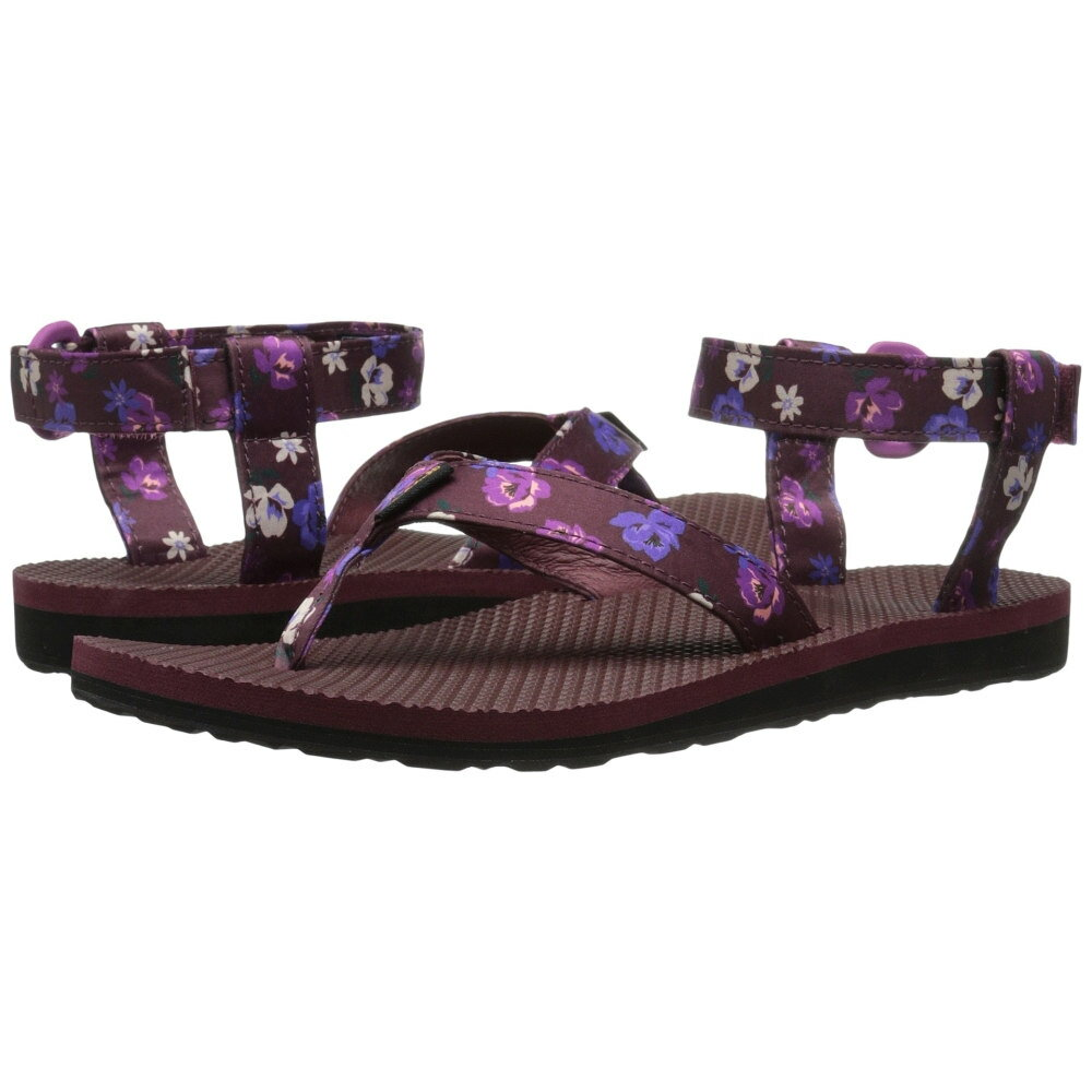 テバ Teva レディース シューズ?靴 サンダル【Original Sandal Floral Satin】Zinfandel