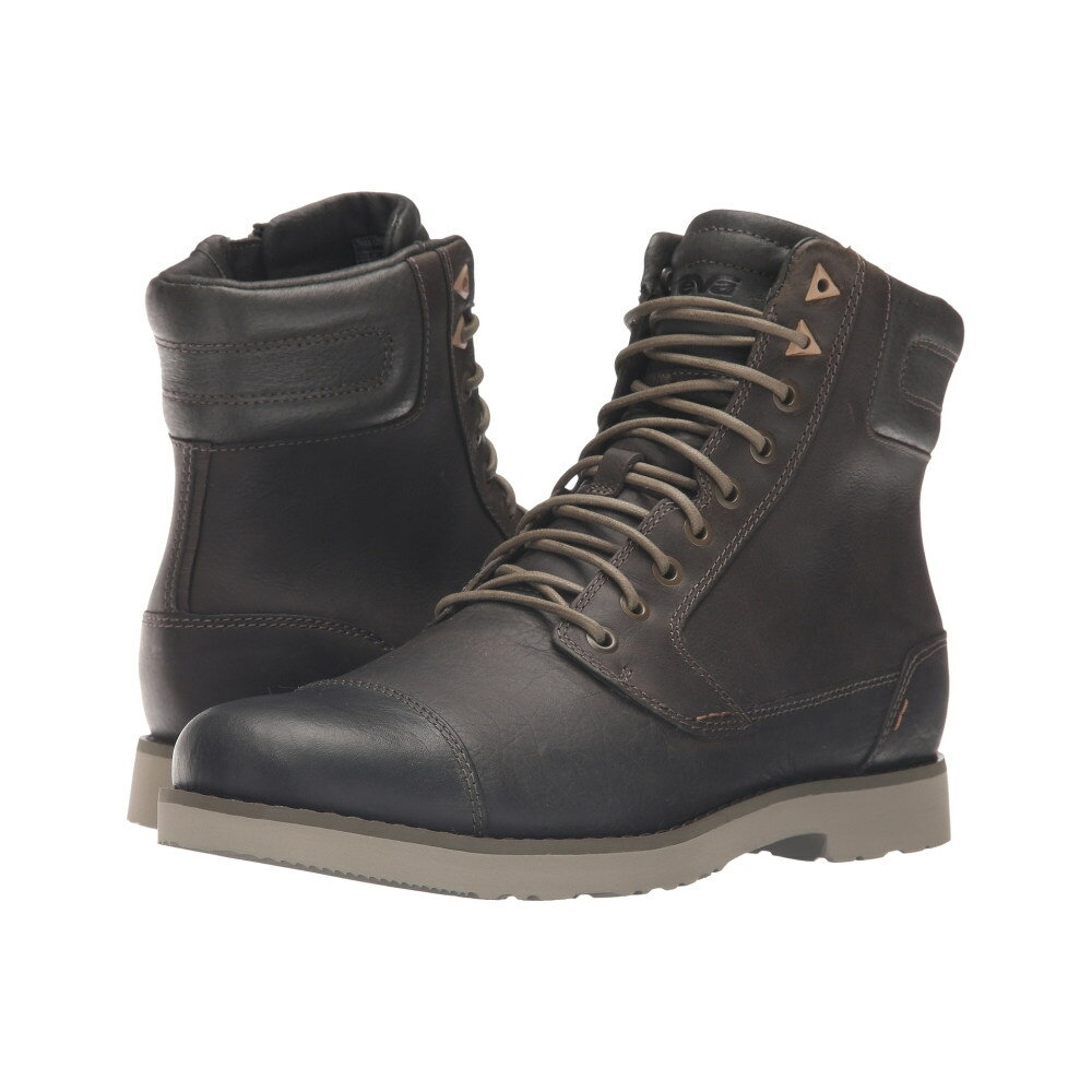テバ メンズ シューズ・靴 ブーツ【Durban Tall Leather】Dark Olive