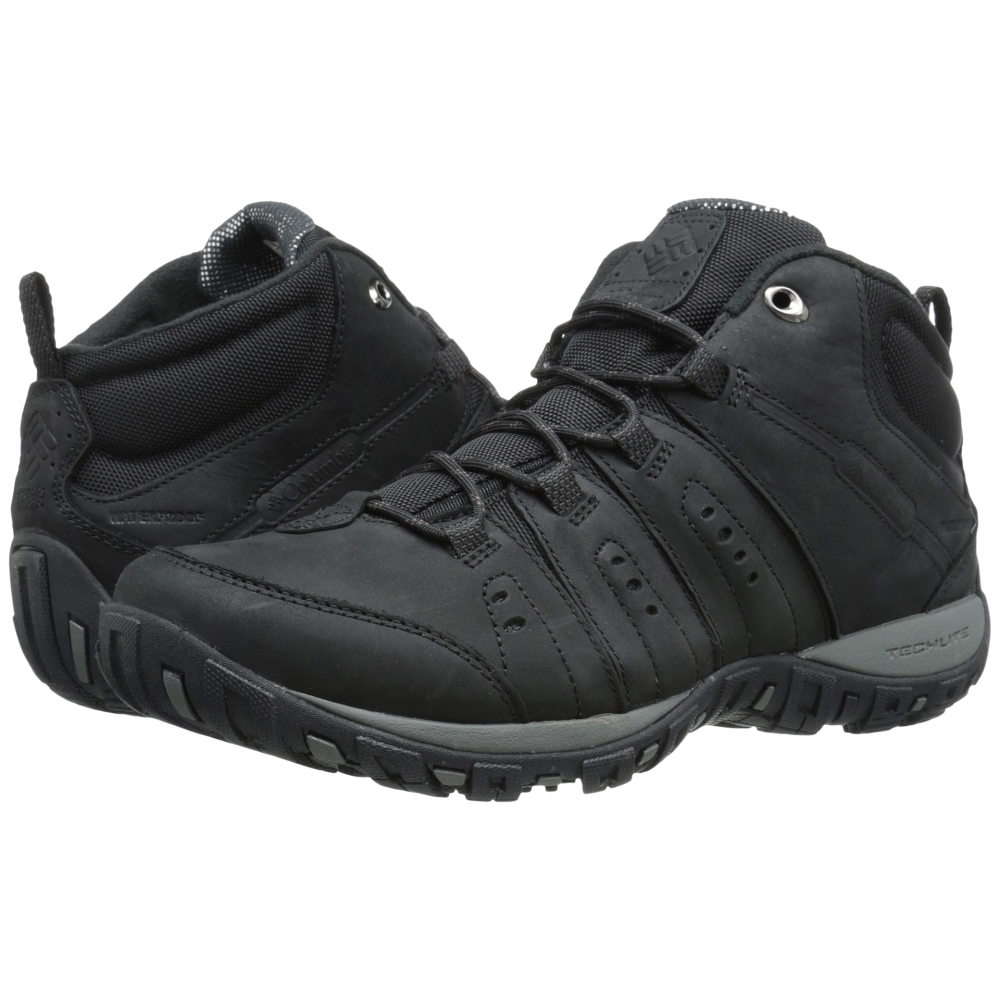 コロンビア Columbia メンズ シューズ・靴 ブーツ【Peakfreak Nomad Plus Chukka WP Omni-Heat】Black/Madder Brown