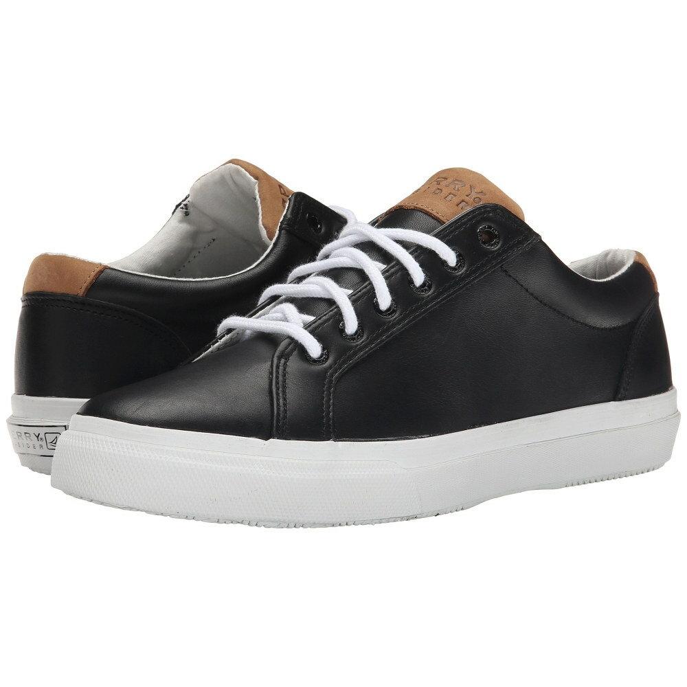 スペリー Sperry メンズ シューズ?靴 スニーカー【Striper LTT Leather】Black