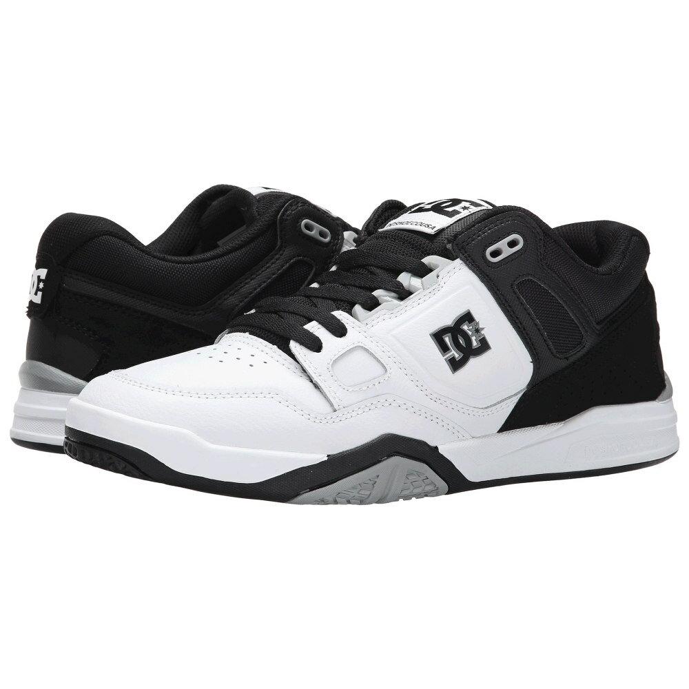 ディーシー メンズ シューズ・靴 スニーカー【Stag 2】White/Black/Armor