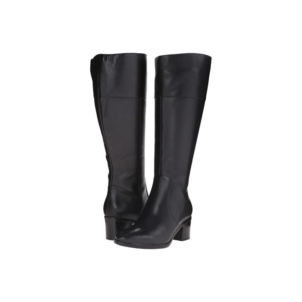 ナチュラライザー Naturalizer レディース シューズ・靴 ブーツ【Harbor Wide Calf】Black Leather