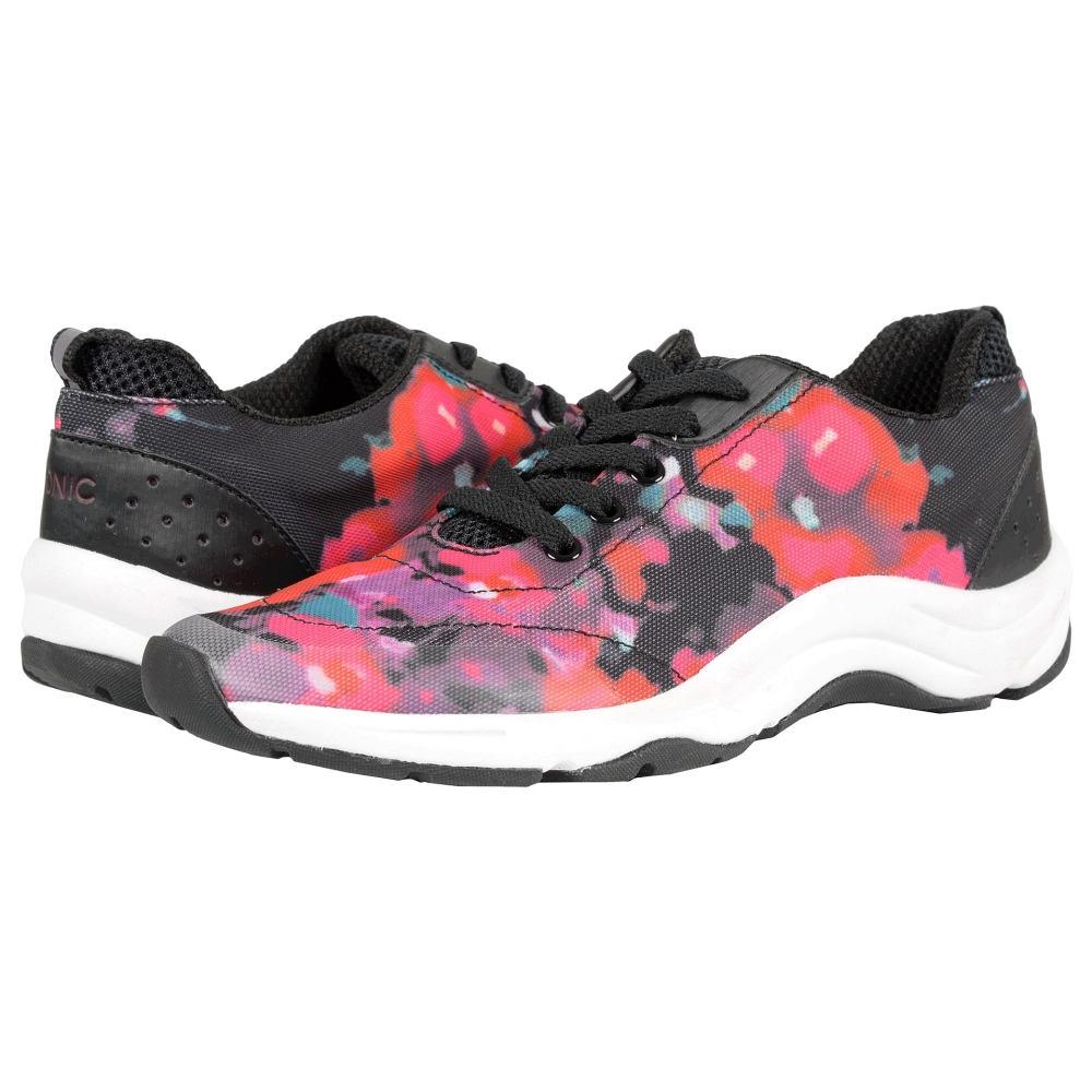 バイオニック レディース シューズ・靴 スニーカー【Action Tourney Lace Up】Black Floral