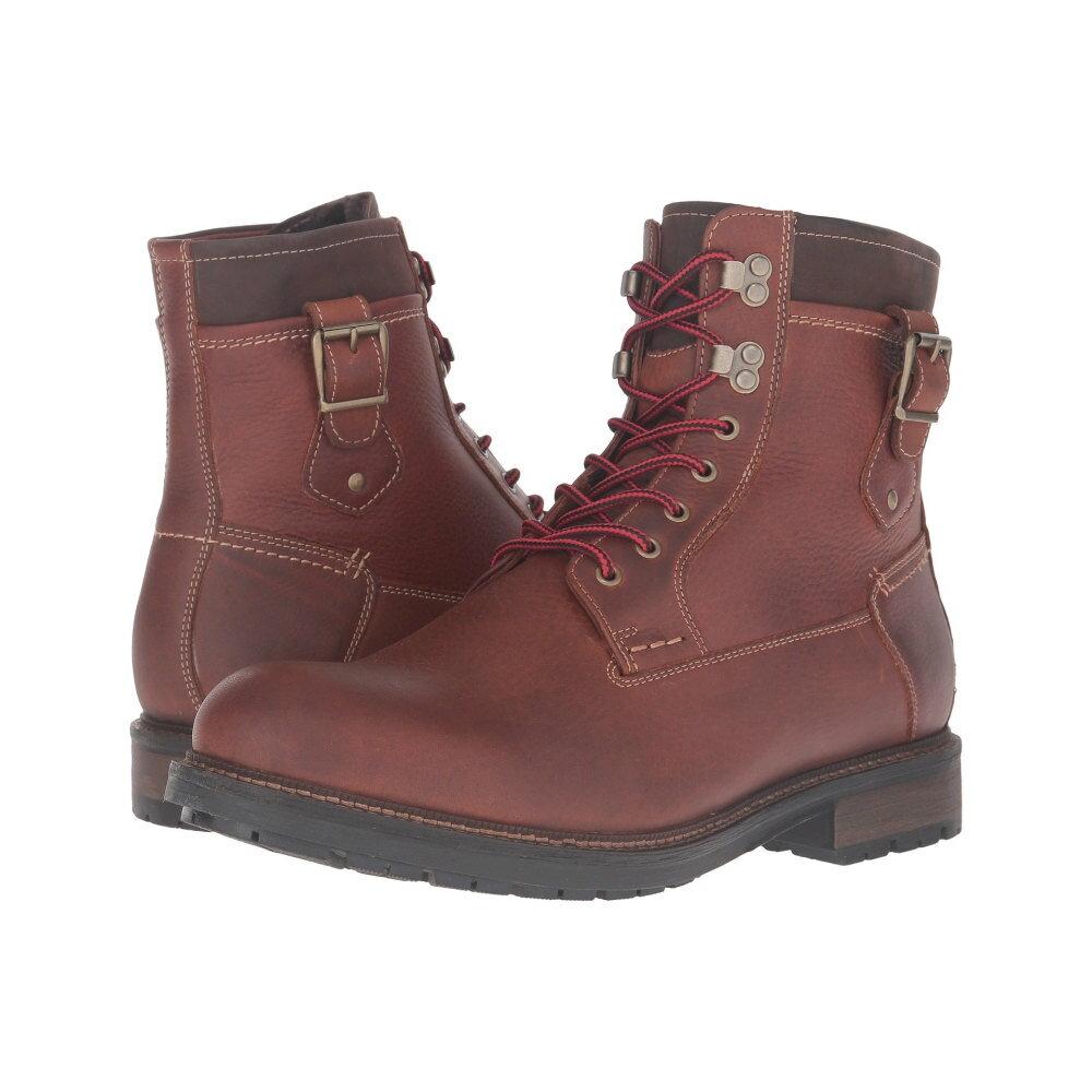 ジョンストン&マーフィー Johnston & Murphy メンズ シューズ・靴 ブーツ【Waterproof McHugh Shearling Boot】Tan Waterproof Tumbled Full Grain