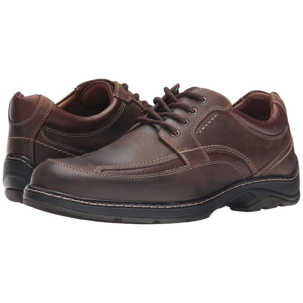 ジョンストン&マーフィー Johnston & Murphy メンズ シューズ・靴 オックスフォード【Fairfield Moc Lace-Up】Brown Oiled Waterproof Full Grain
