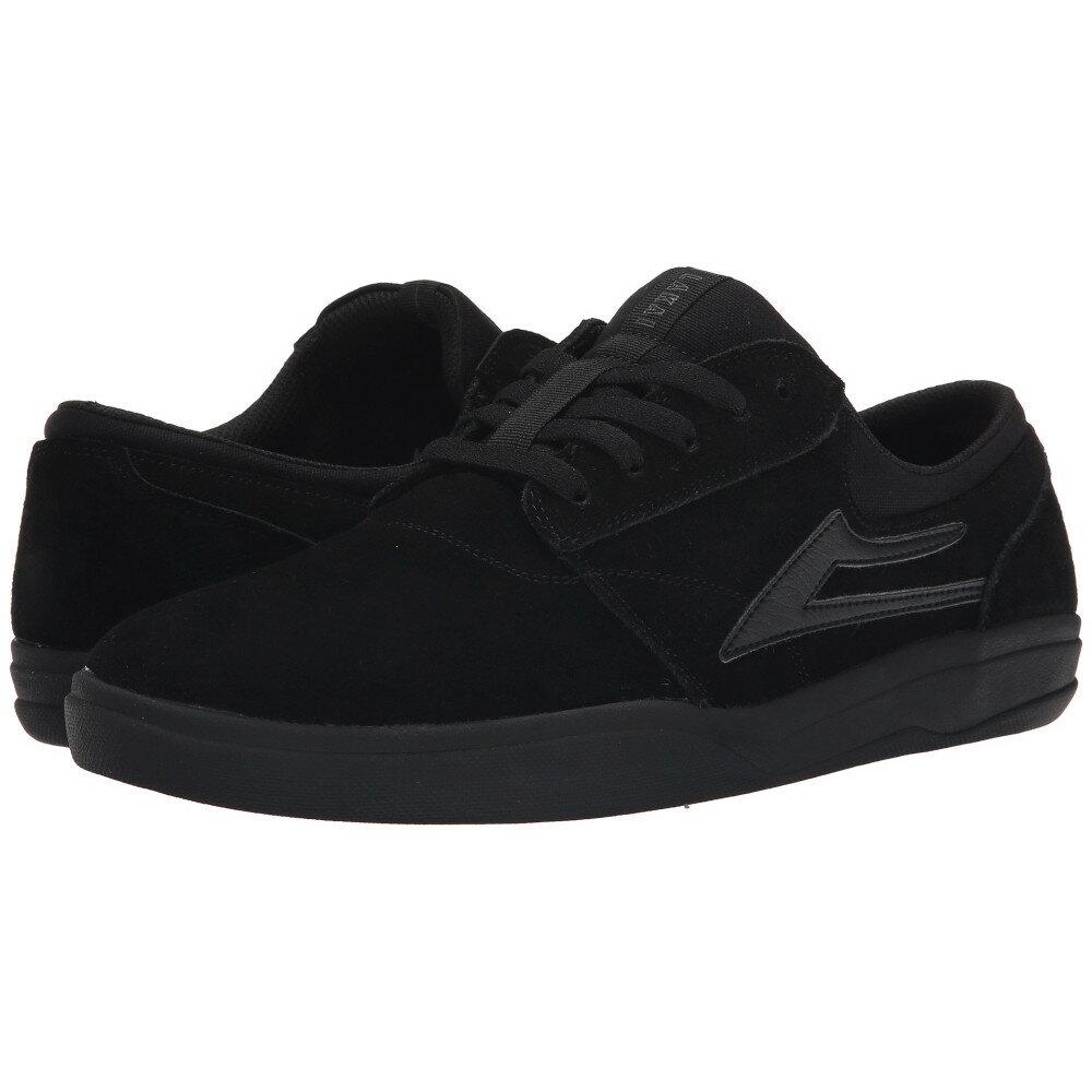 ラカイ メンズ シューズ・靴 スニーカー【Griffin XLK】Black/Black Suede