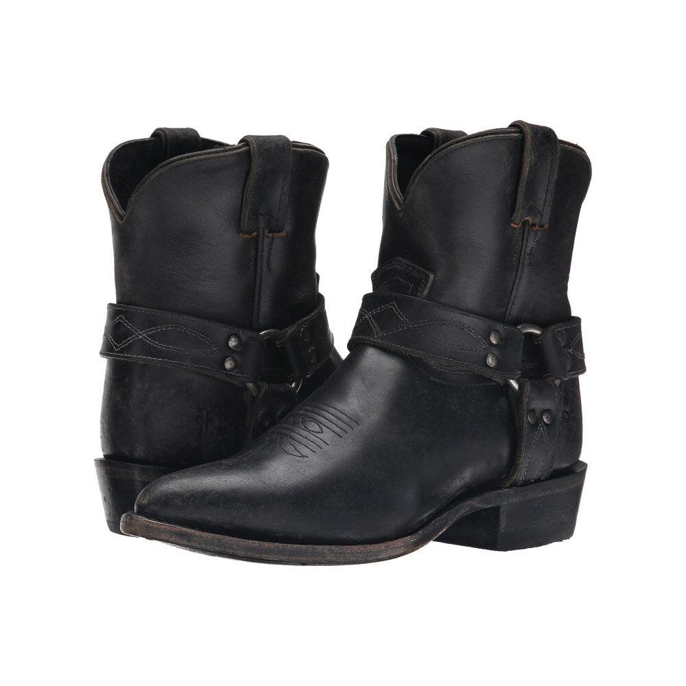 フライ Frye レディース シューズ・靴 ブーツ【Billy Harness Short】Black Smooth Stone Wash