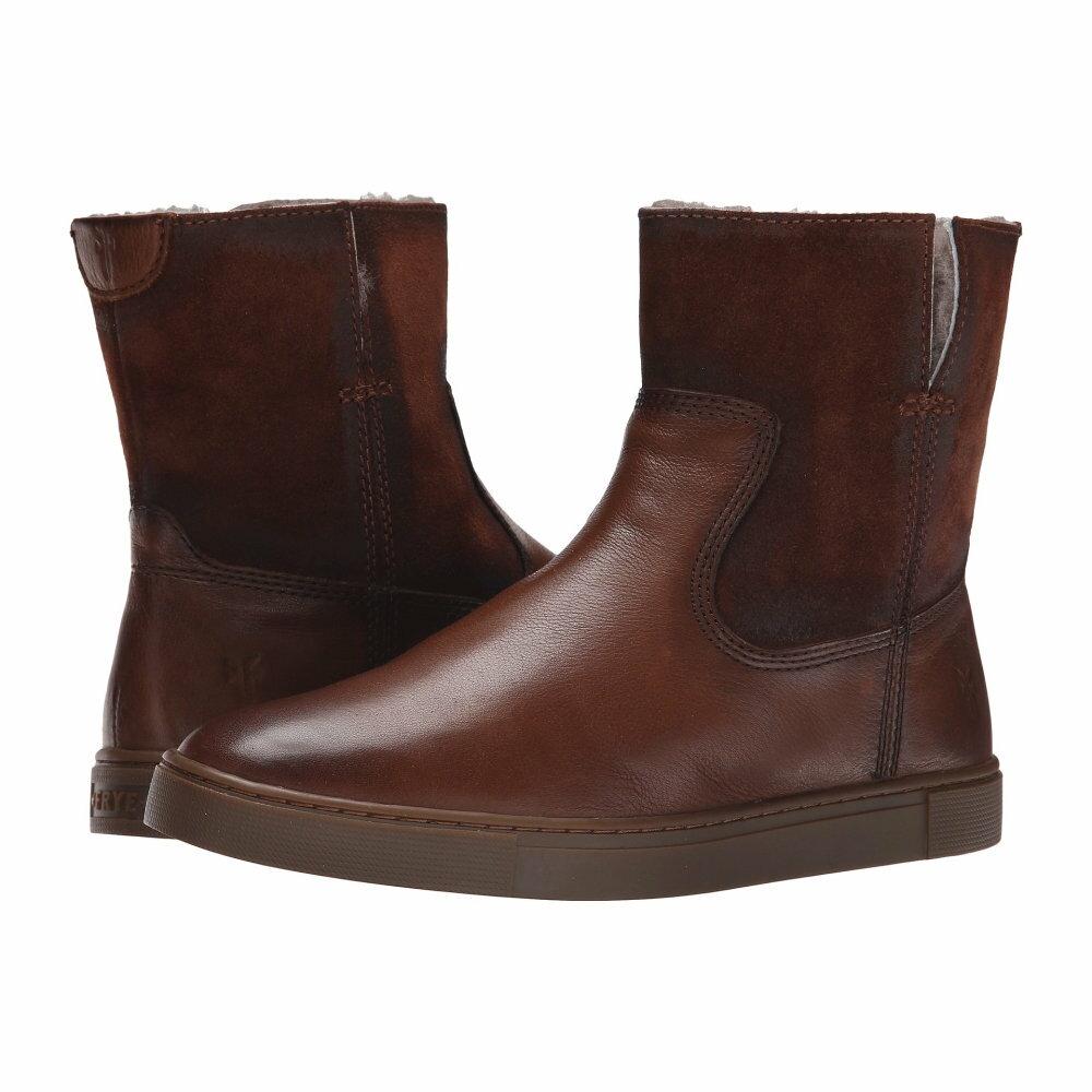 フライ Frye レディース シューズ・靴 ブーツ【Gemma Short Shearling】Cognac Soft Vintage Leather/Oiled Suede